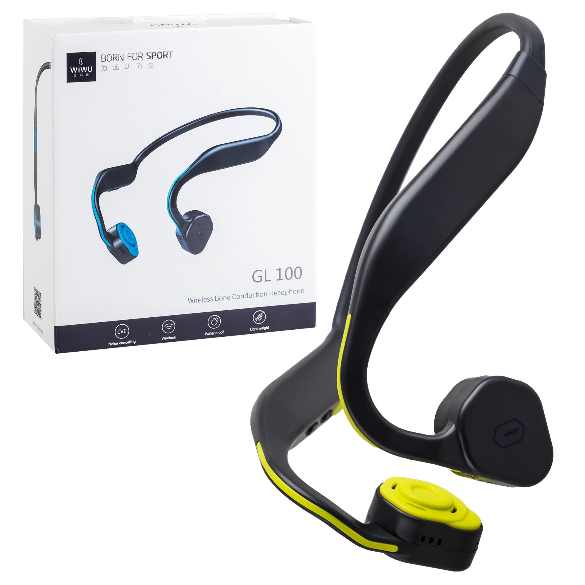 Наушники Bluetooth Wiwu GL100